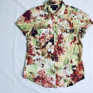 Ariat Western Pearl Snaps short sleeve shirt top